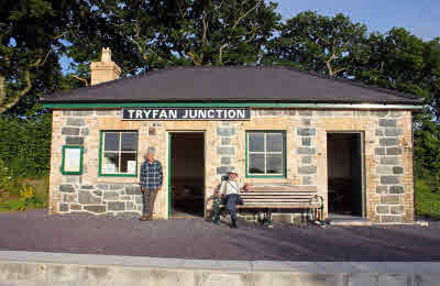 Tryfan Junction - pic by FR&WHR