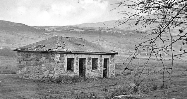 Waunfawr in the 1940's