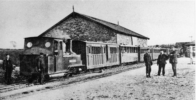 Snowdon Ranger at Dinas c.1894