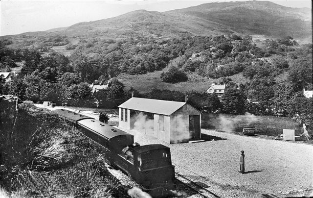 Train in Beddgelert 1923